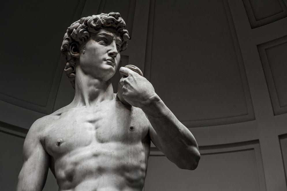 미켈란젤로의 다비드| 다윗과 예술