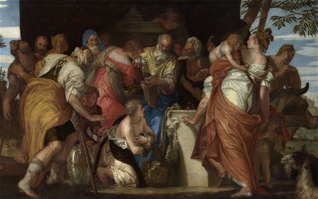 The Anointing of David - Veronese 1555
